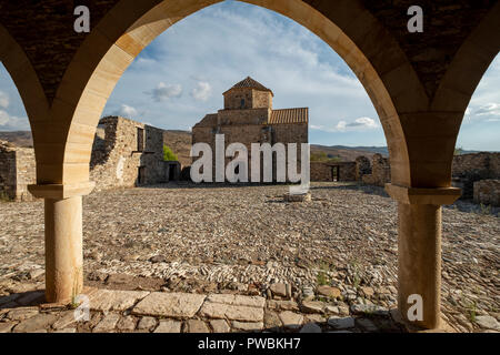 Panagia tou Sinti Monastery. Orthodox monastery dedicated to the Virgin Mary. Paphos district, Cyprus. - Stock Photo