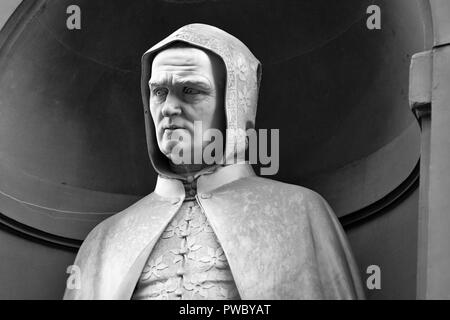 portrait of the famous Painter Giotto - Stock Photo