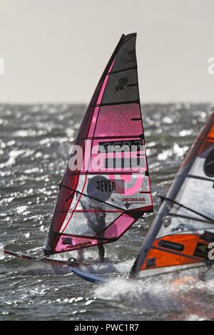 Nicolas Prien, GER, Mercedes-Benz Windsurf World Cup, Sylt 2018 - Stock Photo