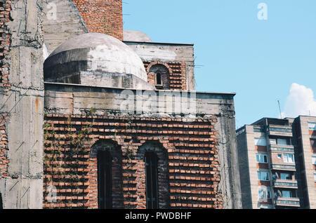 Church of Christ the Saviour, Pristina, Kosovo, Balkans, September 2018 - Stock Photo