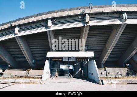 Exterior of the Poljud stadium, home of Hadjuk Split football club, Split, Croatia, September 2018