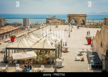 Bastion Saint Remy And The Panoramic Terrace Of Cagliari