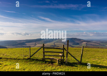 South Downs Way - Stock Photo