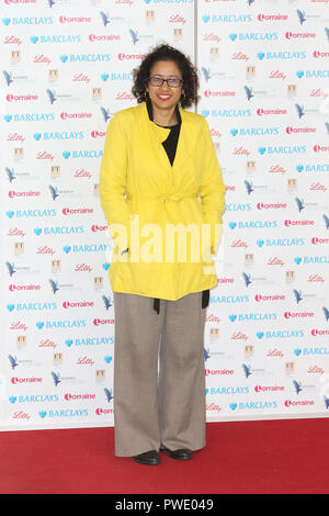London, UK. 15th Oct 2018. Samira Ahmed, Women of the Year Lunch, InterContinental, London Park Lane, UK, 15 October 2018, Photo by Richard Goldschmidt Credit: Rich Gold/Alamy Live News - Stock Photo