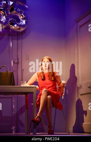 London, UK. 15th Oct 2018. Rosalie Craig,'Company'A Musical Comedy,Photocall,Gielgud Theatre,London.UK Credit: michael melia/Alamy Live News - Stock Photo