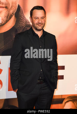 London, UK. 15th Oct 2018. Dan Fogelman attends the European Premiere of 'Life Itself' & Royal Bank of Canada Gala during the 62nd BFI London Film Festival. Credit: SOPA Images Limited/Alamy Live News - Stock Photo