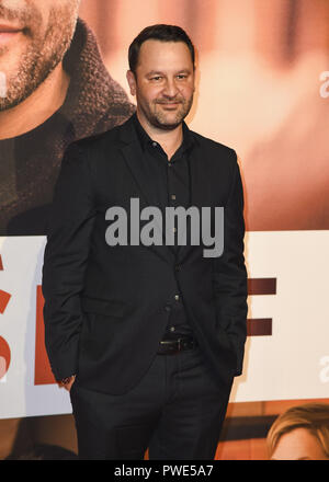 London, UK. 15th Oct, 2018. Dan Fogelman attends the European Premiere of 'Life Itself' & Royal Bank of Canada Gala during the 62nd BFI London Film Festival. Credit: Gary Mitchell/SOPA Images/ZUMA Wire/Alamy Live News - Stock Photo