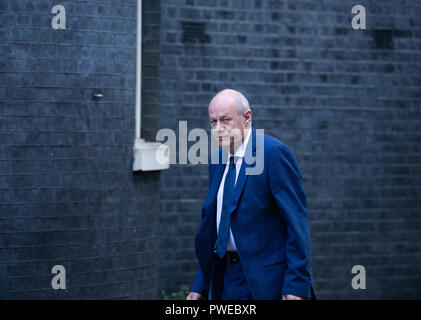 London, UK. 16th Oct 2018. Damian Green arrives in Downing Street Credit: Tommy London/Alamy Live News - Stock Photo