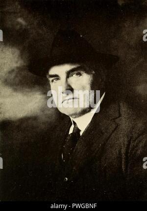 Burr McIntosh, c. 1918. - Stock Photo
