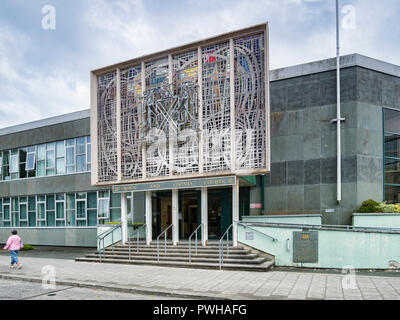 8 June 2018: Plymouth, Devon, UK - Crown and County Courts. - Stock Photo