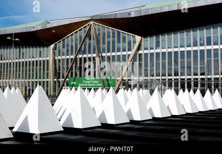 crystal palace sports centre london england uk stock photo. Black Bedroom Furniture Sets. Home Design Ideas