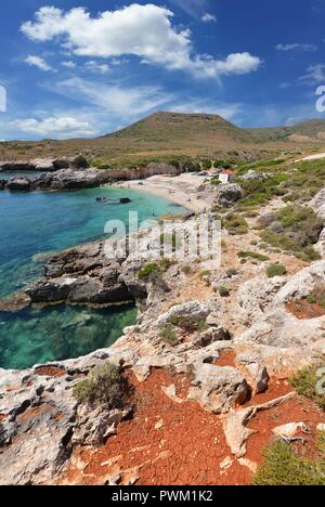 Landscape of greece islands - Stock Photo