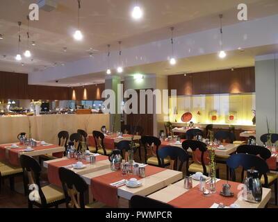 Wien, Hotelfrühstück - Vienna, Breakfast at a Hotel - Stock Photo