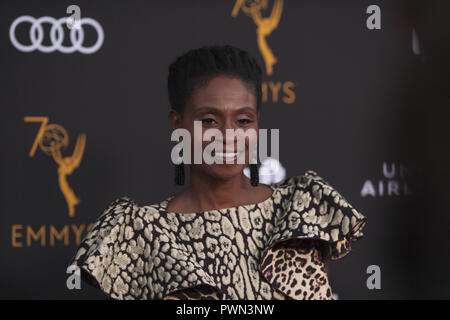 The Television Academy honours Emmy-nominated Performers Reception at Wallis Annenberg Center for the Performing Arts in Beverly Hills, California.  Featuring: Adina Porter Where: Beverly Hills, California, United States When: 15 Sep 2018 Credit: Tony Forte/WENN - Stock Photo