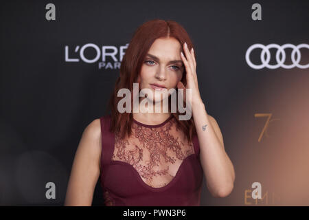 The Television Academy honours Emmy-nominated Performers Reception at Wallis Annenberg Center for the Performing Arts in Beverly Hills, California.  Featuring: Madeline Brewer Where: Beverly Hills, California, United States When: 15 Sep 2018 Credit: Tony Forte/WENN - Stock Photo
