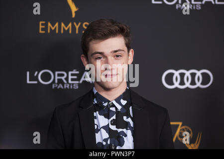 The Television Academy honours Emmy-nominated Performers Reception at Wallis Annenberg Center for the Performing Arts in Beverly Hills, California.  Featuring: kendrick sellati Where: Beverly Hills, California, United States When: 15 Sep 2018 Credit: Tony Forte/WENN - Stock Photo
