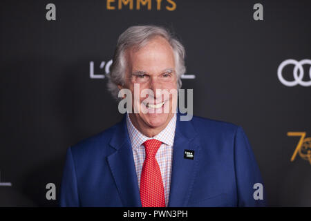 The Television Academy honours Emmy-nominated Performers Reception at Wallis Annenberg Center for the Performing Arts in Beverly Hills, California.  Featuring: henry winkler Where: Beverly Hills, California, United States When: 15 Sep 2018 Credit: Tony Forte/WENN - Stock Photo