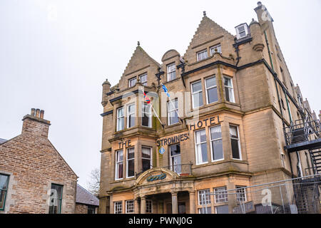 The Stromness Hotel, Stromness ,Mainland ,Orkney Islands, Scotland - Stock Photo