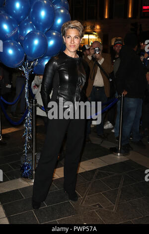 London, UK. 17th Oct, 2018. Tamsin Greig, Company - Opening Night, Gielgud Theatre, Shaftesbury Ave, Soho, London, UK, 17 October 2018, Photo by Richard Goldschmidt Credit: Rich Gold/Alamy Live News Stock Photo