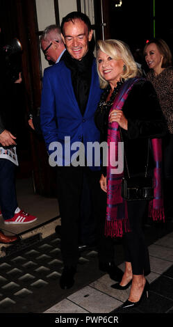 London, UK. 17th October, 2018. Elaine Paige attending the COMPANY at The Gielgud Theatre in London Wednesday 17th  October 2018 Credit: Peter Phillips/Alamy Live News - Stock Photo