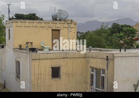 Rooftop view in Kabul, Afghanistan - Stock Photo