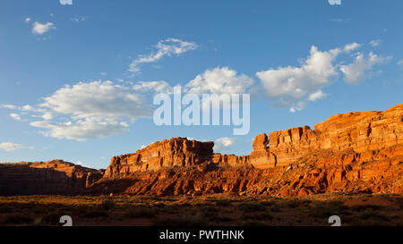 The Valley of the Gods, Utah, USA - Stock Photo