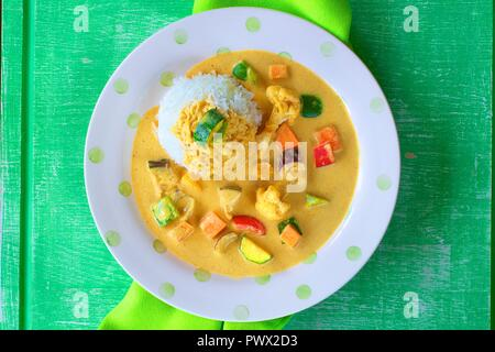 Vegetable Curry - Stock Photo