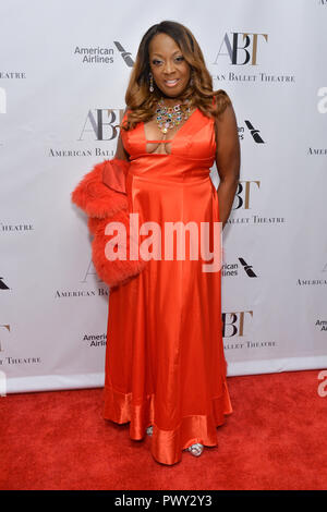 New York, USA. 17th October, 2018. Star Jones attends The American Ballet Theatre 2018 Fall Gala at David H. Koch Theater, Lincoln Center on October 17, 2018 in New York City. Credit: Erik Pendzich/Alamy Live News - Stock Photo