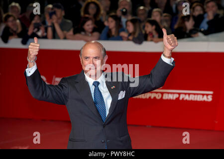 Rome, Italy. 18th October, 2018. The United States Ambassador to Italy Lewis M. Eisenberg attending the red carpet during the 13th Rome Film Fest Credit: Silvia Gerbino/Alamy Live News - Stock Photo