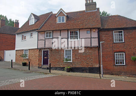 Faversham Period House Kent - Stock Photo