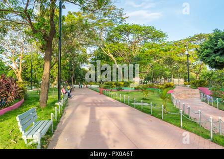 Parque Campestre in Managua, Nicaragua, Central America - Stock Photo