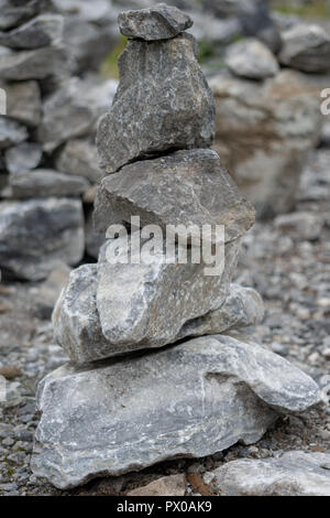 pyramids of marble - Stock Photo