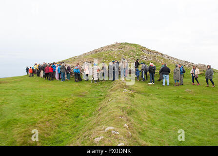 Loughcrew Ancient megalithic Tomb, Co Meath, Ireland