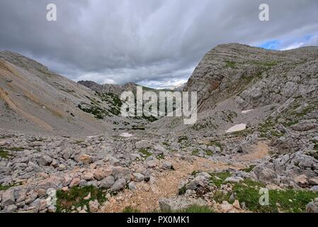 Italian alps landscape - Stock Photo
