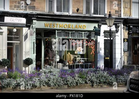 Montpellier Quarter Harrogate Yorkshire England U.K. - Stock Photo