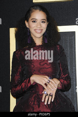 HBO Emmy Party 2018 - Arrivals  Featuring: Jasmin Savoy Brown Where: Los Angeles, California, United States When: 17 Sep 2018 Credit: Apega/WENN.com - Stock Photo