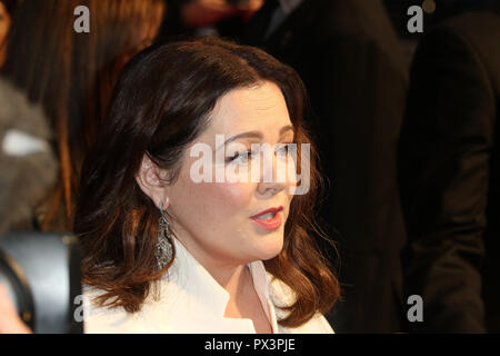 London, UK. 19th Oct 2018. Melissa McCarthy, Can You Ever Forgive Me? - UK Premiere, BFI London Film Festival, Leicester Square, London, UK, 19 October 2018, Photo by Richard Goldschmidt Credit: Rich Gold/Alamy Live News - Stock Photo