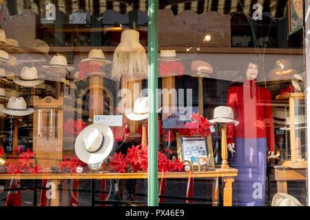 099ed7b76dd Hat store window display