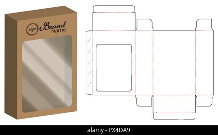 paper envelope dieline mockup template vector eps10 stock vector art
