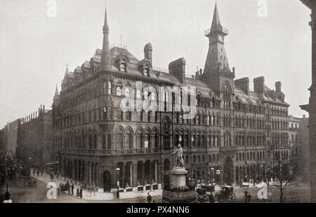New Exchange Building Birmingham, England, opened in 1865.  From The Business Encyclopedia and Legal Adviser, published 1920. - Stock Photo