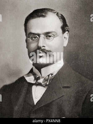 Sir Cyril Arthur Pearson, 1st Baronet, 1866 – 1921.  British newspaper magnate and publisher, founder of the Daily Express.  From The Business Encyclopedia and Legal Adviser, published 1920. - Stock Photo