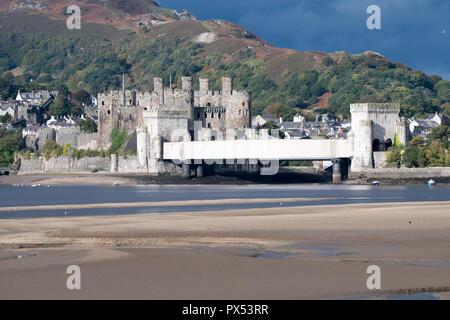 Conwy Castle - Stock Photo