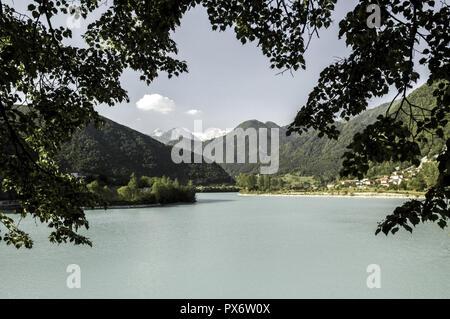 Soca river, Slovenia, Northern Slovenia, Soca - Stock Photo