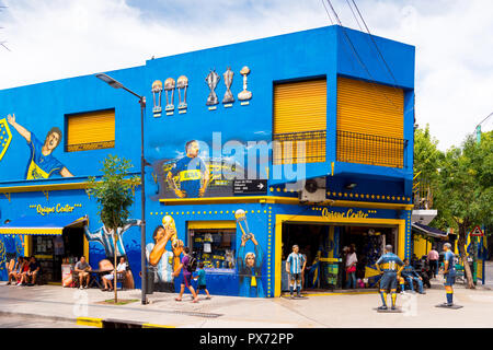 BUENOS AIRES, ARGENTINA - DECEMBER 25, 2017: View of the building. Copy space for text - Stock Photo