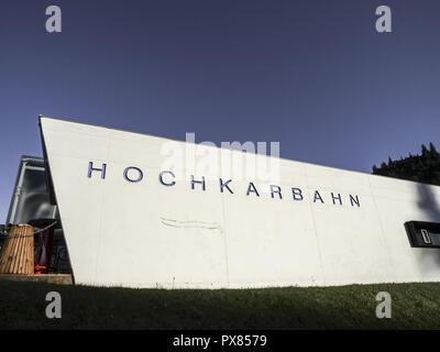 Hochkarbahn, Austria, Lower Austria, Hochkar - Stock Photo