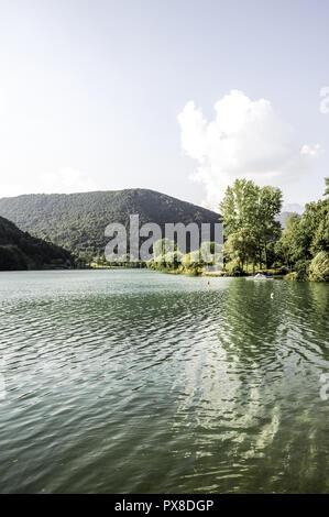 River Soca, Slovenia, Northern Slovenia, Soca - Stock Photo