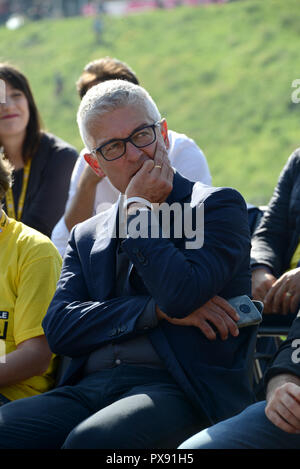 Rome, Italy. 20th Oct, 2018. Nicola Morra at the 2018 edition of TALIA at 5 STARS at the Circus Maximus of Rome Credit: Independent Photo Agency/Alamy Live News - Stock Photo