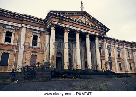 Crumlin Road Courthouse, Belfast, Northern Ireland, UK, 2018 - Stock Photo