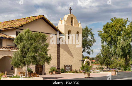 Mission Santa Inés, Solvang, California, USA. One of the series of 21 Spanish religious outposts in Alta California. - Stock Photo