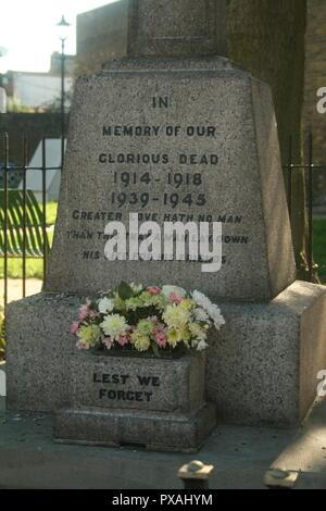 Faversham Memorial - Stock Photo